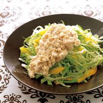 レタスとパプリカのサラダ