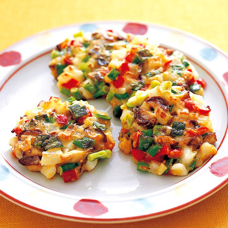 コロコロ野菜のチヂミ