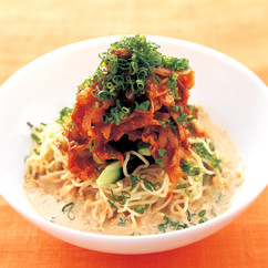 豚キムチ冷麺
