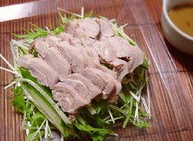 蒸し鶏サラダ☆ピリ辛棒々鶏風ソース