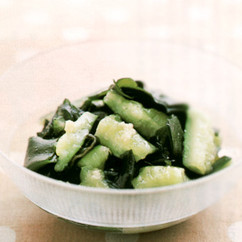 たたききゅうりとわかめのサラダ