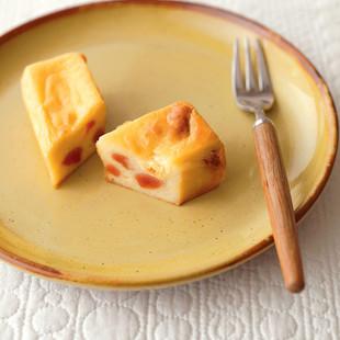 干し柿入りベイクドチーズケーキ