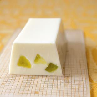 メロン杏仁豆腐