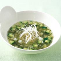ねばねば冷製スープ