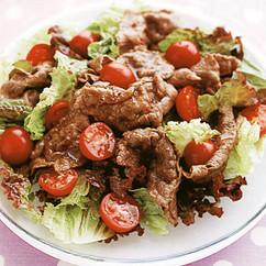 牛肉焼きしゃぶサラダ