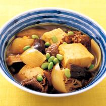 カレー肉豆腐