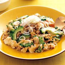 にんにく豆腐チャンプルー