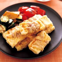 豚バラ巻き豆腐