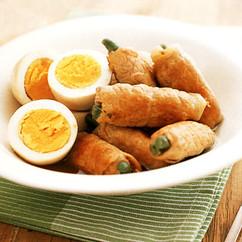 豚肉とゆで卵のナンプラー煮