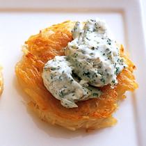 ミニガレット ガーリック&クリームチーズ