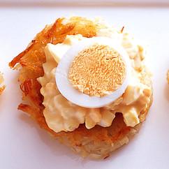 ミニガレット ゆで卵マヨ