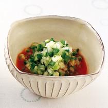 刻み野菜のトマトジュースあえ