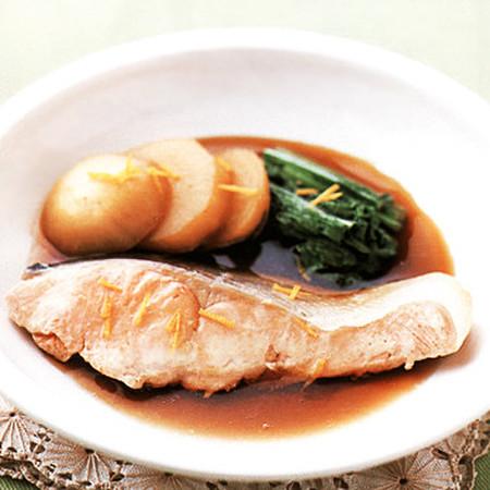 鮭のしっとり煮