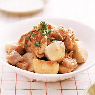 豚肉と里いもの炒め煮