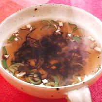 エリンギの簡単スープ