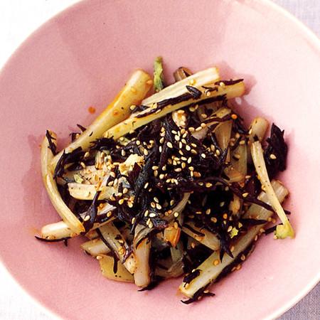 白菜とひじきの中華風きんぴら