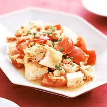 豆腐トマトチャンプルー
