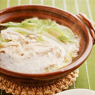 豚肉と白菜の小鍋仕立て