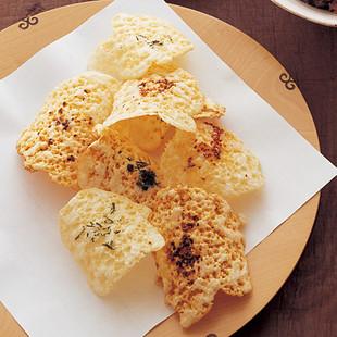 チーズせんべい2種