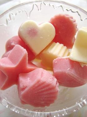 西瓜ミルク&レモンミルクアイスキャンディ