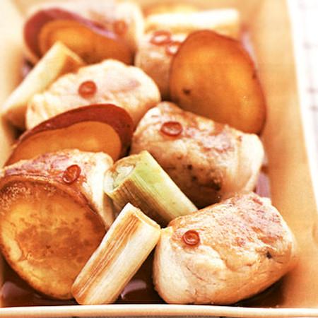 肉巻き豆腐の南蛮漬け