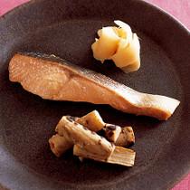 鮭のゆずみそ漬け焼き