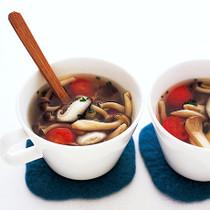 洋風きのこスープ