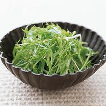 水菜のわさびドレッシング