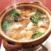 鮭と豆腐の雪見鍋
