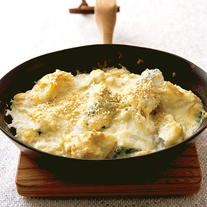 たらの豆腐グラタン
