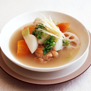 手羽と根菜の和風ポトフ