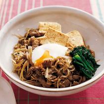 温卵のせ肉豆腐
