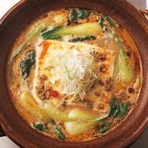 タンタン湯豆腐