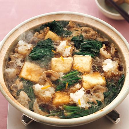 揚げ出し湯豆腐