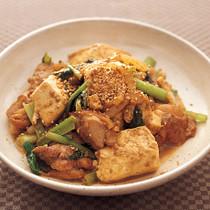 とりのごま煮豆腐