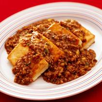 あんかけ焼き麻婆豆腐