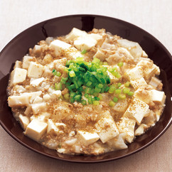根菜たっぷり麻婆豆腐