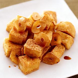 豆腐のあられ揚げ