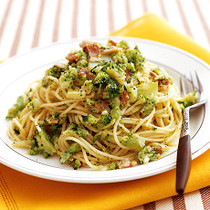 ブロッコリーのスパゲッティ