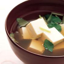 豆腐のすまし汁