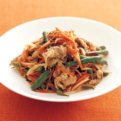 豚肉と彩り野菜の炒め煮