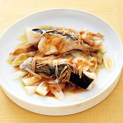 白身魚の中華蒸し
