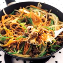 韓国風フライパンすき焼き