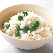 ぷっくり豆ご飯