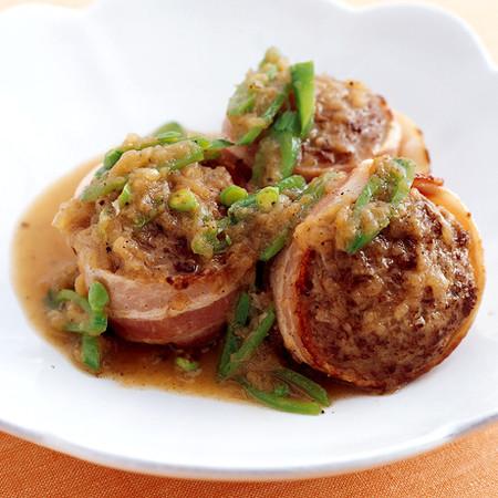 春野菜煮込みハンバーグ