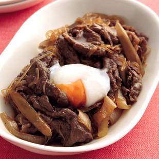 牛肉としらたきの炒め煮