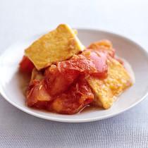 トマトと豆腐の塩炒め