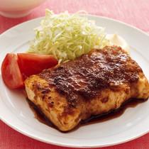 豚しょうがの豆腐ステーキ