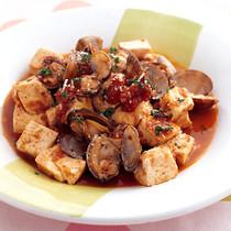 豆腐のボンゴレ