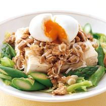 豆腐とツナの和風サラダ